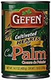 Gefen Cultivated Hearts Of Cut Palm KFP 14.1 Oz. Pack Of 3.
