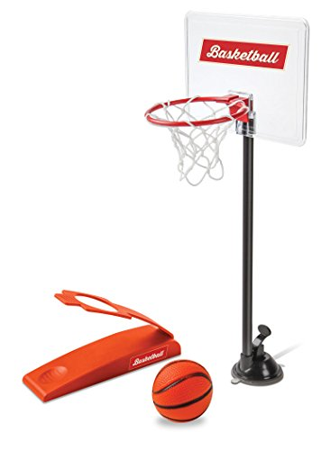 Mini Desktop Basketball Game Classic Miniature Basket Ball Shootout Table Top Office Shooting Toy For Kids Or Sports Fans