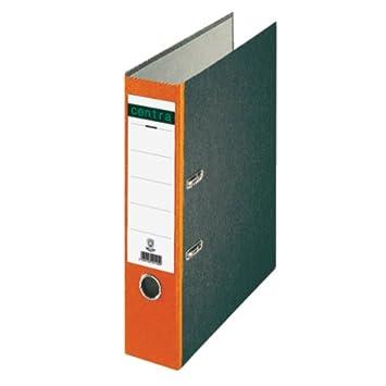 Leitz 220126 - Archivador estándar con anillas A4 lomo de color naranja: Amazon.es: Juguetes y juegos