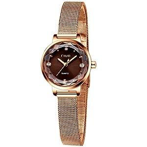 CIVO Mens Womens Watches Waterproof Analog Quartz Wrist Watches for Men Women Boys Kids Simple Design Fashion Casual Business Minimalist Cool Wacthes