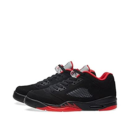 premium selection 87c1c cffa0 Nike Air Jordan 5 Retro Low Ltd Alternate Basketball Shoes Sneaker Black Red,  EU