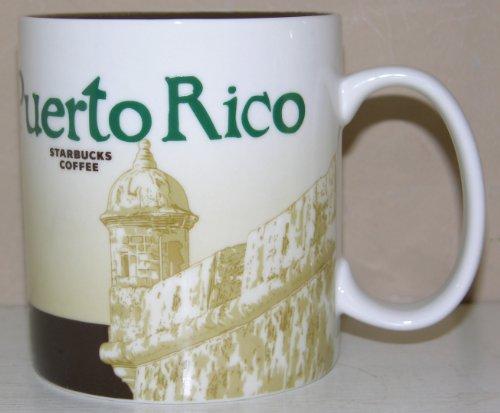Starbucks Coffee Puerto Rico 16 Fl Oz Coffee Mug Cup 2011