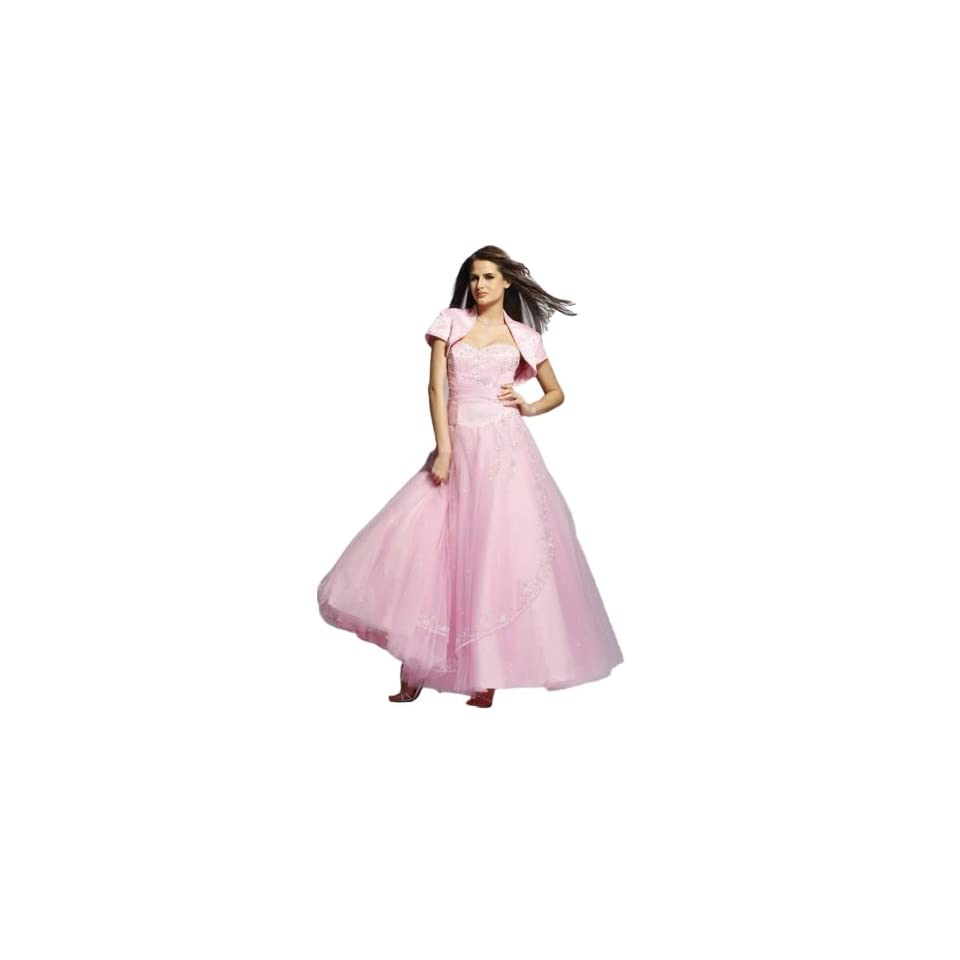 Clarisse Full Ball Gown Prom Dress 927, Pink, 10