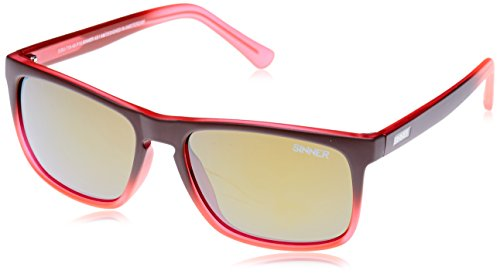 Naranja Gafas Marrón Mate de Sol Sinner Oak 8q50X