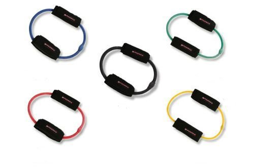 LEG CORD RPC-027 Leg Exercise Bands with Travel Bag - 5 Pack