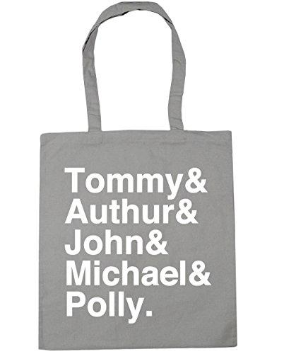 HippoWarehouse Shelby familia Tote Compras Bolsa de playa 42cm x38cm, 10litros gris claro