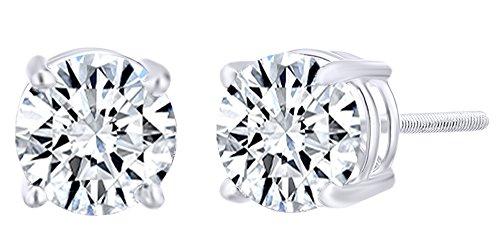0.4 Ct Diamond Earrings - 1