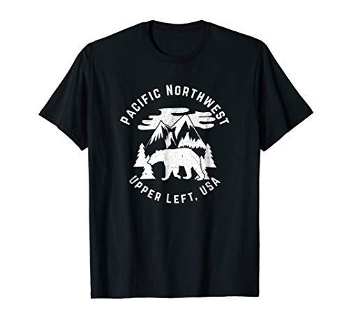Pacific Northwest Shirt | Gift Men Women Kids | Nature Love