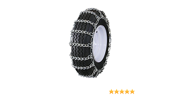 Grizzlar GTU-280 Garden Tractor 2 link Ladder Alloy Tire Chains Tensioner included 24x13.00-12 26x10.00-12 26x11.00-12 26x12.00-12