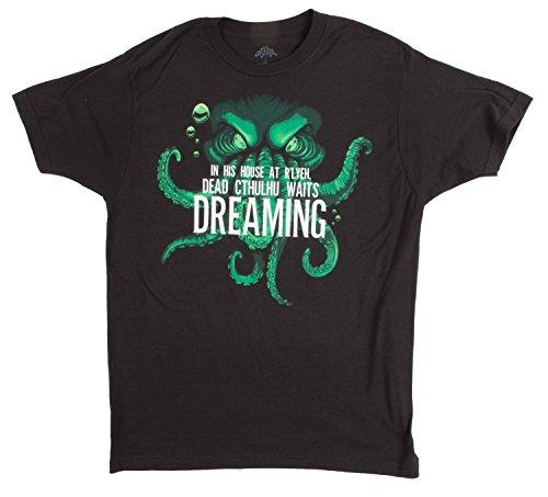 Dead Cthulhu Waits Dreaming | Lovecraft, Sci-fi Horror Fan Unisex T-shirt