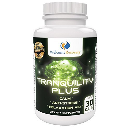 Tranquility Plus Stress Relief Supplement by Welcome Recovery