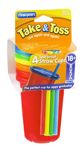 take toss spill proof straw