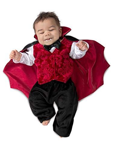 Princess Paradise Infant Little Vlad Vampire Costume 3/6 -