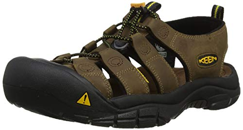 KEEN Men's Newport Sandal,Bison,10.5 M US