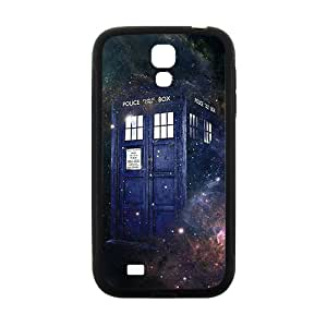 Doctor Who starry night blue police box Cell Phone Case for Samsung Galaxy S4