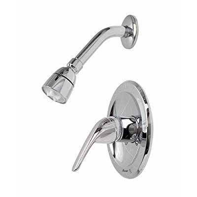 Premier 120430 Bayview Shower Trim Package with Single Function Shower Head and,