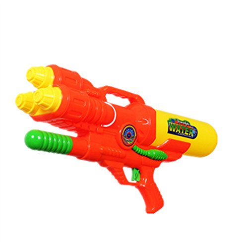Generic 3 Nozzles Squirt Guns Water Pistols with A Free Protecting Glass for Children Kids Adults