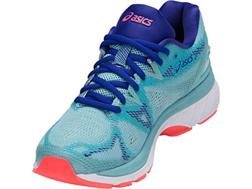 ASICS Women's Gel-Nimbus 20 Running Shoe, porcelain blue/white/asics blue, 5.5 Medium US by ASICS (Image #1)