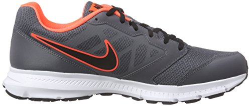 Nike Downshifter 6 - Zapatillas de running Hombre Gris / Negro / Naranja / Blanco (Dark Grey / Blk-Hypr Orng-White)