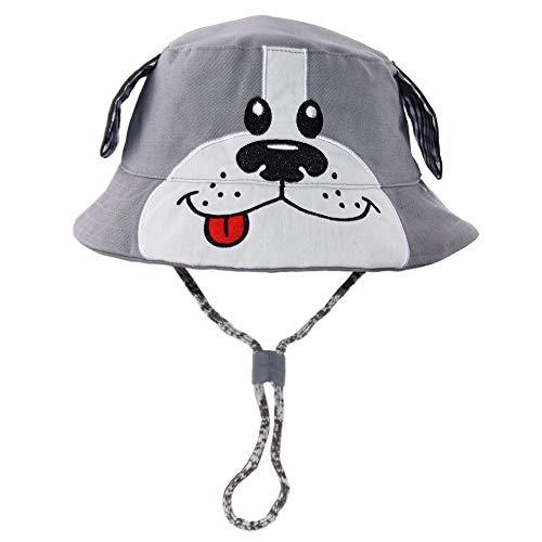 Hisharry Toddler Boy Bucket Hat- Cute Baby Girl Kids Sun UV Protection Animal Hat 20.4