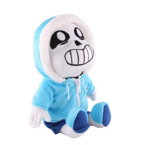 Unbranded Phantomx Sans Plush Doll Stuffed Figure Toy Kids Gifts 8'' by VANVENE
