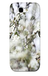 Crazinesswith Premium Protective Hard Case For Galaxy Note 2- Nice Design - Butterfly