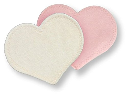 bamboobies Washable Reusable Nursing Pads with Leak-Proof Backing for Breastfeeding, Ultra Thin