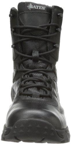 Bates Donna Delta Nitro-8 Zip Tactical Duty Boot Nero