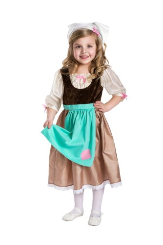 Little Adventures Cinderella Day Dress Princess Dress Up Costume for Girls