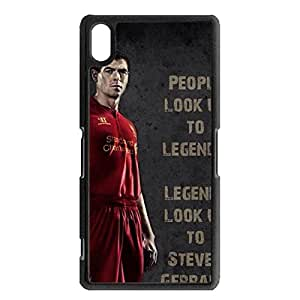 Original FC Liverpool Steven Gerrard Protective Skin Holographic Design Sony Xperia Z2 Phone Case
