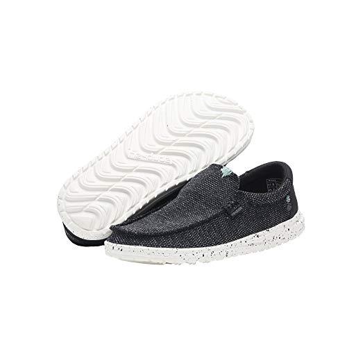 Dude Tinta Shoes Hombres Negro Mikka Sox qrrIfw