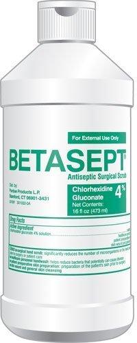 PT# 6761820016 Scrub - BetasePT# 16oz AntisePT# ic 4% CHG Scrub Bottle... by DIRECT