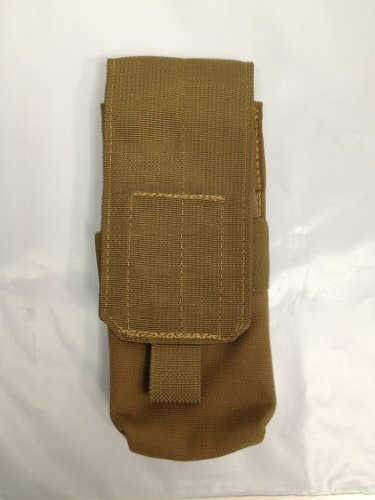 Usmc Coyote Double Mag Pouch Usgi Military Fire Force