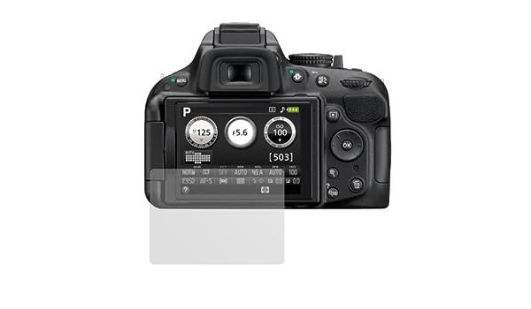 dipos I 6X Protector de Pantalla Mate Compatible con Nikon D5200 ...