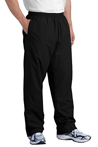 (Sport-Tek Men's Wind Pant XL Black)