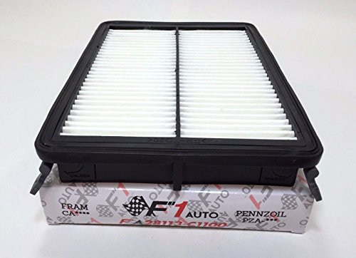 Specs Kia Optima - F1AUTO FA8195 FLAT PANEL ENGINE AIR FILTER