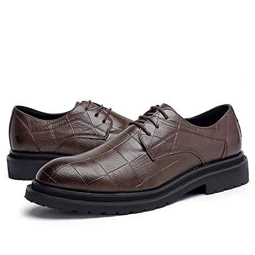 Tamaño 44 Oxford Fuweiencore Marrón Suela Grau color Suave Tamaño Elegante 2018 Negocios Formales color De Informal Para Cómoda Clásico Negro Zapatos Y Hombres Eu qEU4pTEn