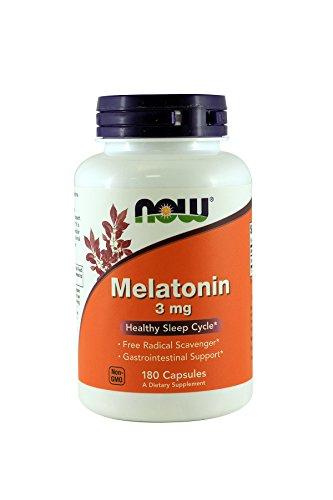 NOW Foods Melatonin Capsules Pack