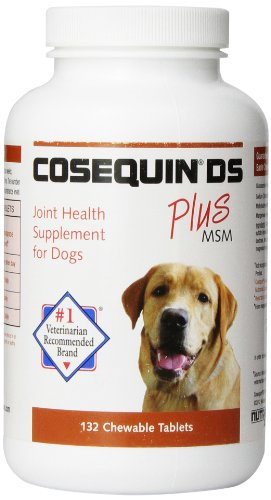 Nutramax Cosequin DS PLUS MSM Chewable Tablets - 132 Count