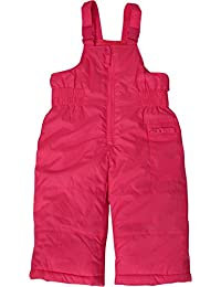 Baby Girls Insulated and Water Resistant Bib Snowpant