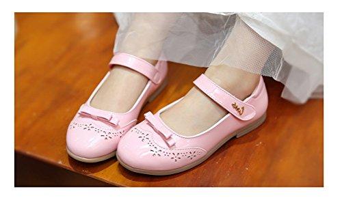 Image of Always Pretty Little Girls Ballet Ballerina Flats Princess Shoes Flower Girl Dress Shoes (Toddler/Little Kid/Big Kid)
