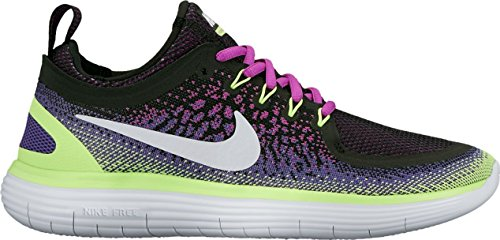 Nike Womens Free Rn Distanz 2 Laufschuh Hyper Violet / Weiß-dunkles Iris-Ghost