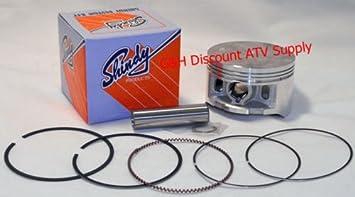 Shindy Piston /& Rings Kit 1995-2003 Honda TRX 400 Foreman Standard Size 86.00mm