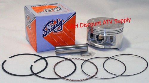 Honda Standard Piston - Shindy Piston & Rings Kit for 1995-2003 Honda TRX 400 Foreman ATV (Standard Size (86.00mm))