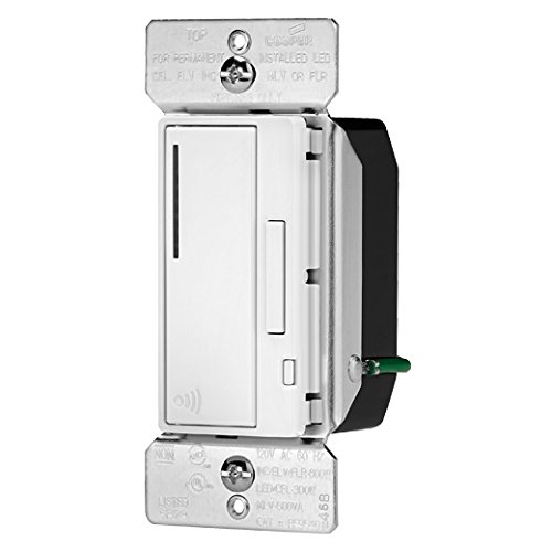 EATON Wiring RF9540-NDW Aspire 600W All Load RF Smart Dimmer System Master, White ()