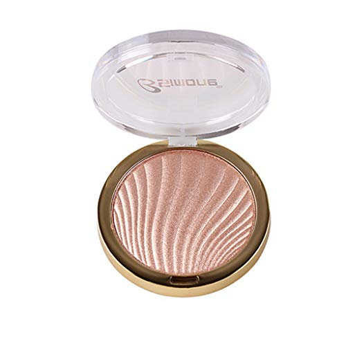 (GoodLock (TM) Hot!! High Gloss Powder Blemish Cheek Silhouette Enhancement Powder Cake Brighten Concealer Natural Eyeshadow Glitter Matte Silky Cosmetic Makeup Set Shimmer Long Lasting Pigmented (B))