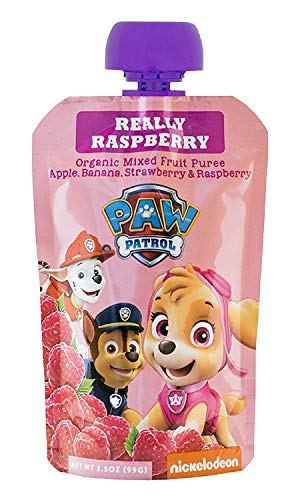 PawPatrol - (Super Strawberry, Really Raspberry, Mighty Mango, Bold Blueberry) USDA Organic, BPA Free, Fruit Squeeze Pouch | Pack of 40 Total by PawPatrol (Image #1)