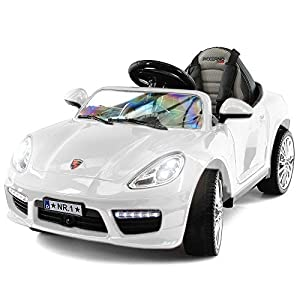 2021 Electric Ride On Car w/ Remote Control for Kids | 12V Power Battery Licensed Kid Car to Drive with 3 Speeds, Dining…