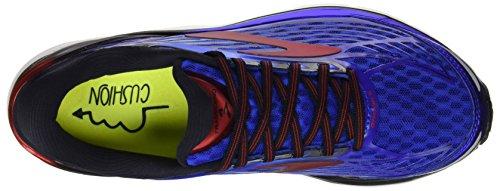 Brooks Transcend 4, Zapatos para Correr para Hombre Multicolor (Electric Blue/black/sil)