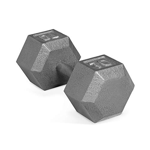 CAP Barbell Solid Hex Single Dumbbells (70-Pound) (70lb Dumbbell)